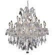 Elegant Lighting Maria Theresa 19 Light Chrome Chandelier Clear Royal Cut Crystal (2801D30C/RC)