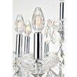 Elegant Lighting Maria Theresa 19 Light Chrome Chandelier Clear Spectra Swarovski Crystal (2800D30C/SA)