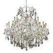 Elegant Lighting Maria Theresa 24 Light Chrome Chandelier Clear Swarovski Elements Crystal (2801D36C/SS)