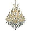 Elegant Lighting Maria Theresa 28 Light Gold Chandelier Clear Spectra Swarovski Crystal (2800D38G/SA)