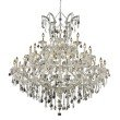 Elegant Lighting Maria Theresa 41 Light Chrome Chandelier Clear Swarovski Elements Crystal (2800G52C/SS)
