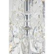 Elegant Lighting Maria Theresa 84 Light Chrome Chandelier with clear tear drop crystals Clear Swarovski Elements Crystal (2803G120C/SS)