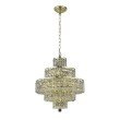 Elegant Lighting Maxime 13 Light Gold Chandelier Clear Royal Cut Crystal (2039D20G/RC)