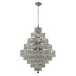 Elegant Lighting Maxime 20 Light Chrome Chandelier Clear Elegant Cut Crystal (2039D30C/EC)
