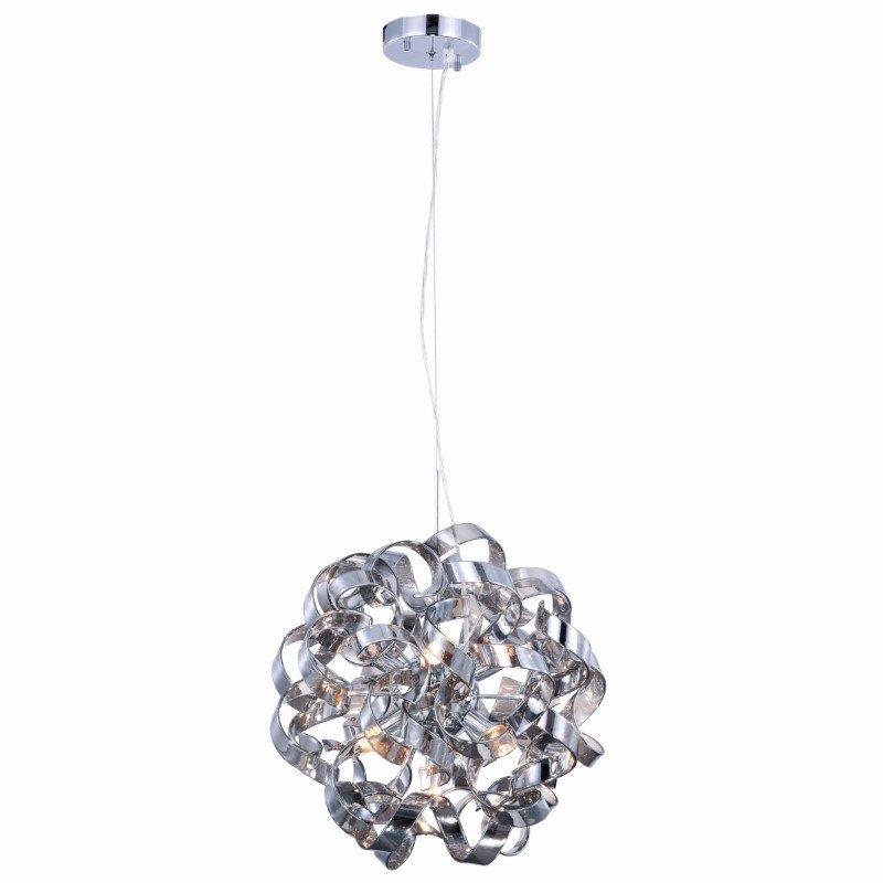 Elegant Lighting Ritz 7 Light Chrome Pendant (2104D18SS)
