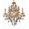Elegant Lighting St. Francis 6 Light Gold Chandelier Clear Royal Cut Crystal (2016D24G/RC)