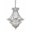 Elegant Lighting Tribeca 12 Light Chrome Chandelier Clear Royal Cut Crystal (3001D24C/RC)