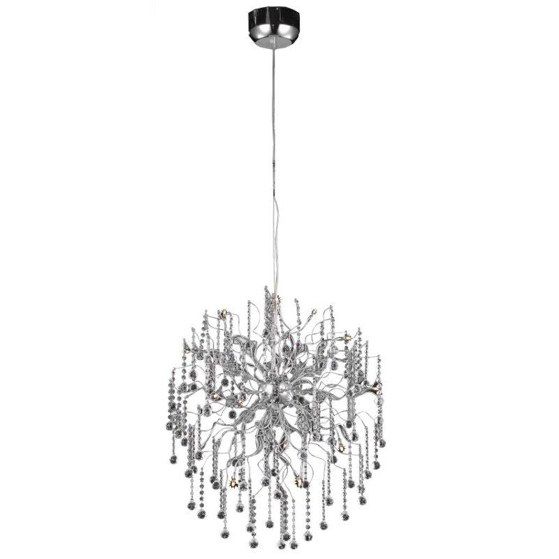 Elegant Lighting Value 2 Astro 15 Light Chrome Chandelier Clear Royal Cut Crystal (V2075D28C/RC)