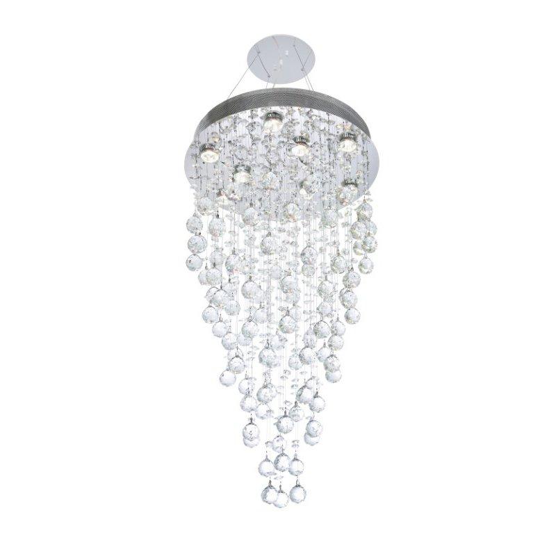 Elegant Lighting Value Galaxy 9 Light Chrome Chandelier Clear Swarovski Elements Crystal (V2006D20C/SS)