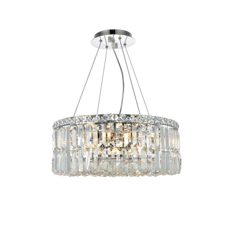 Elegant Lighting Value Maxime 12 Light Chrome Chandelier Clear Swarovski Elements Crystal (V2030D20C/SS)