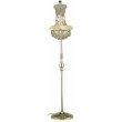 Elegant Lighting Value Primo 6 Light Gold Floor Lamp Clear Elegant Cut Crystal (V1800FL12G/EC)