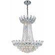 Elegant Lighting Vesper 10 Light Chrome Chandelier Clear Royal Cut Crystal (3002D26C/RC)