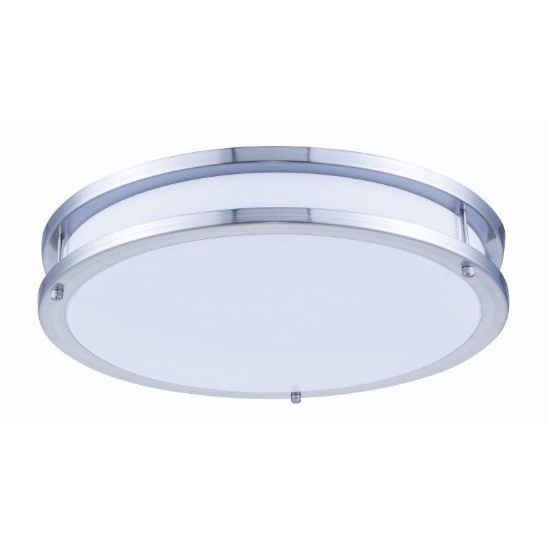 Elitco Lighting LED DOUBLE RING CEILING FLUSH, 3000K, 105deg, CRI80, ETL, 28W, 100W EQUIVALENT, 35000HRS, LM2000, DIMMABLE, INPUT VOLTAGE 120V CF3201