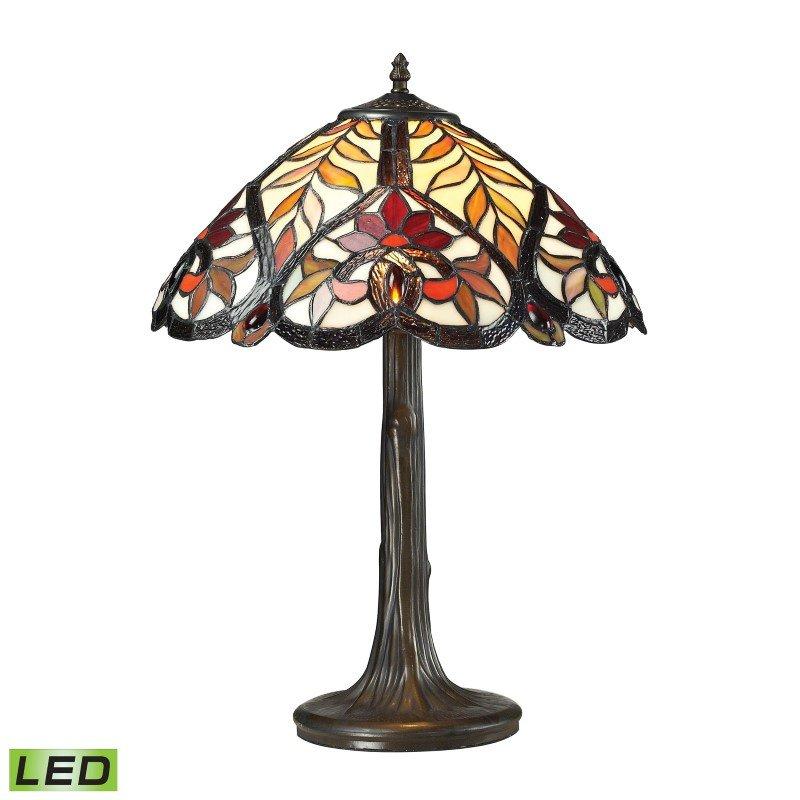 ELK Lighting Brimford 1 Light LED Table Lamp in Dark Bronze (72080-1-LED)