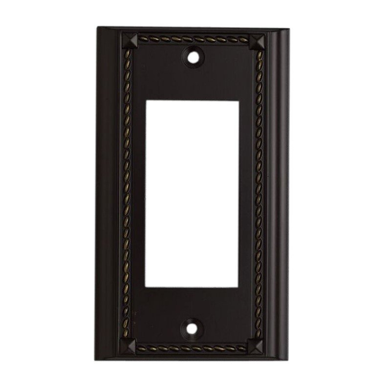 ELK Lighting Clickplates Single Plate In Aged Bronze (2502AGB)