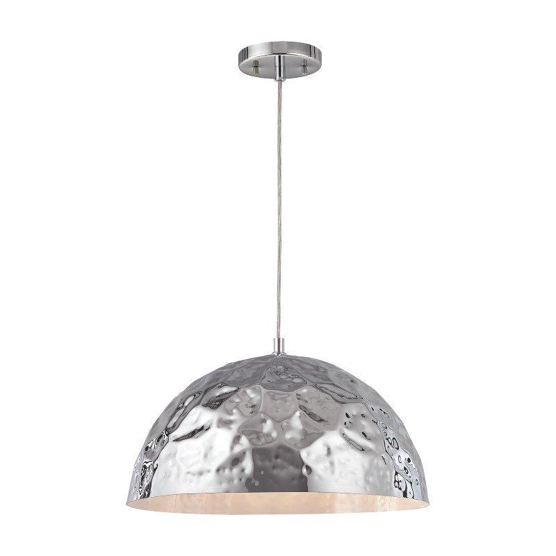 ELK Lighting Hammersmith 1 Light Pendant In Polished Chrome (46212/1)