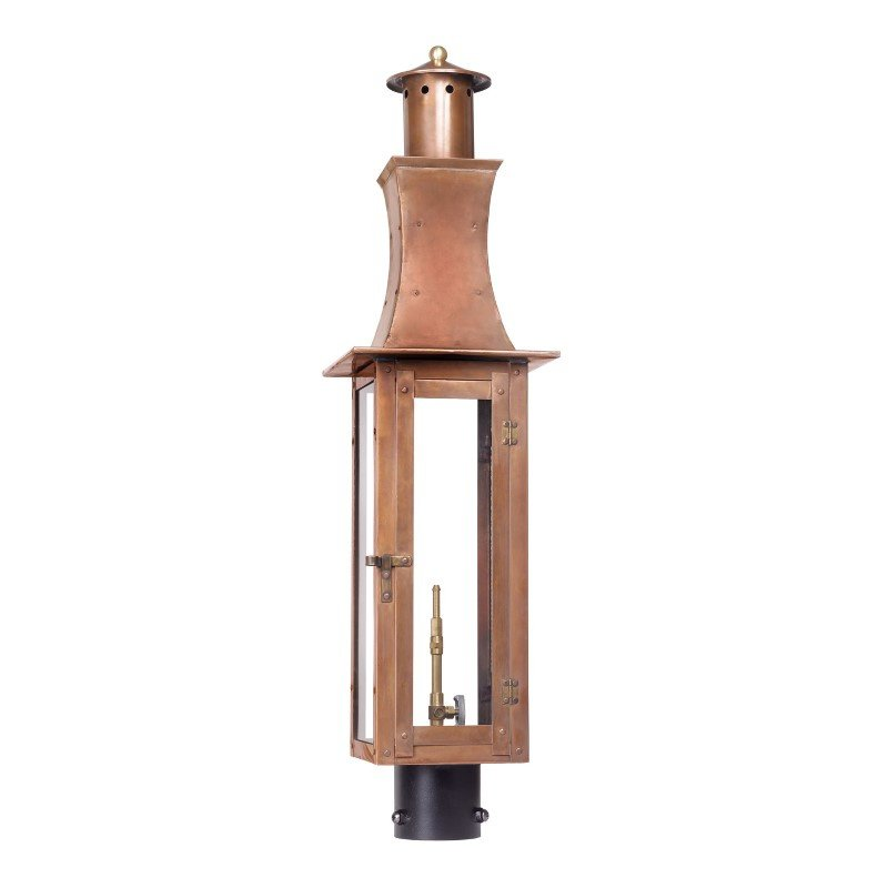 ELK Lighting Maryville Outdoor Gas Post Lantern In Aged Copper (7910-WP)
