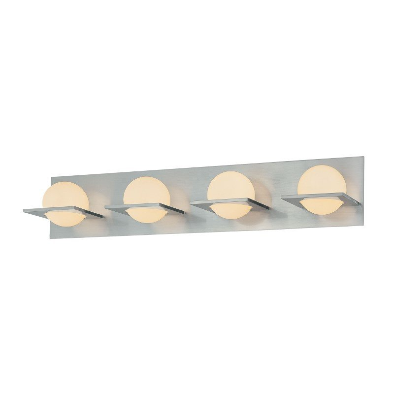 ELK Lighting Orbit 4 Light Vanity In Chrome And White Opal Glass (BV9034-10-15)