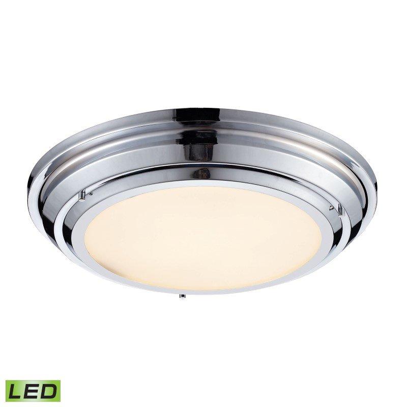 ELK Lighting Sonoma 31 Watt LED Flushmount In Polished Chrome (57011/LED)