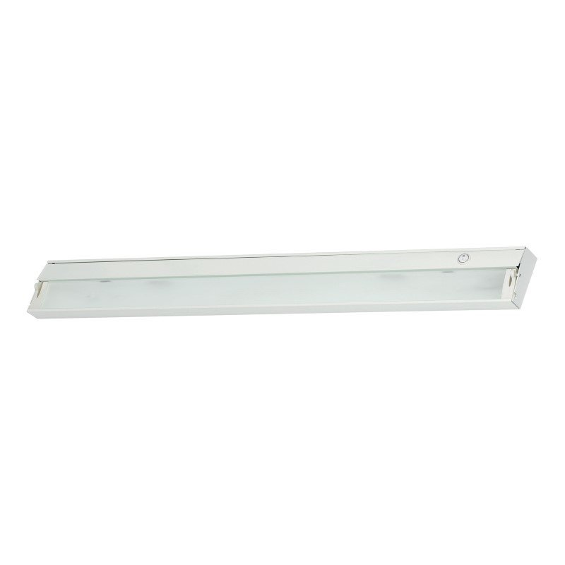 ELK Lighting ZeeLine 6 Lamp Xenon Cabinet Light in White with Diffused Glass (ZL048RSF)