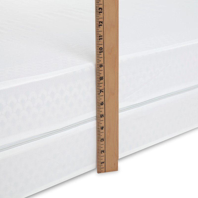 Fashion Bed Group 2-Piece Bed Bug Prevention Pack with InvisiCase 9-Inch Mattress and Box Spring Encasement Bundle - Full XL