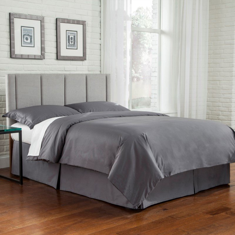 Fashion Bed Group 3-Piece Stone Duvet Cover with Shams - King