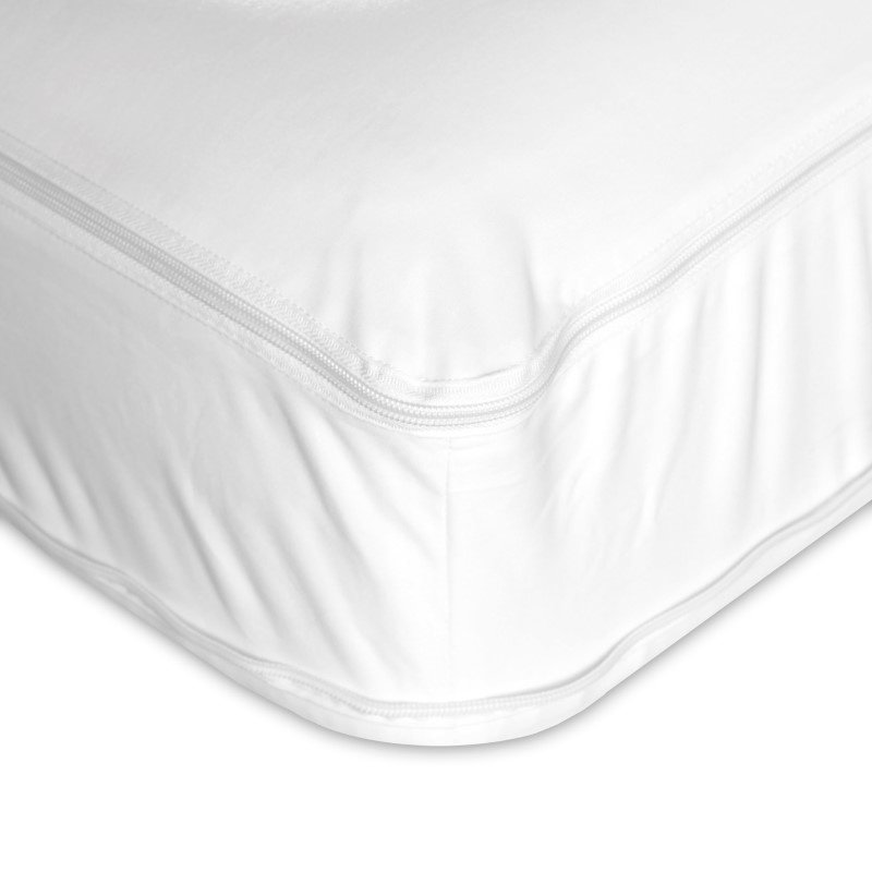 Fashion Bed Group 4-Piece Premium Bed Bug Prevention Pack Plus with InvisiCase Pillow Protectors and Easy Zip Bed Encasement Bundle - Full