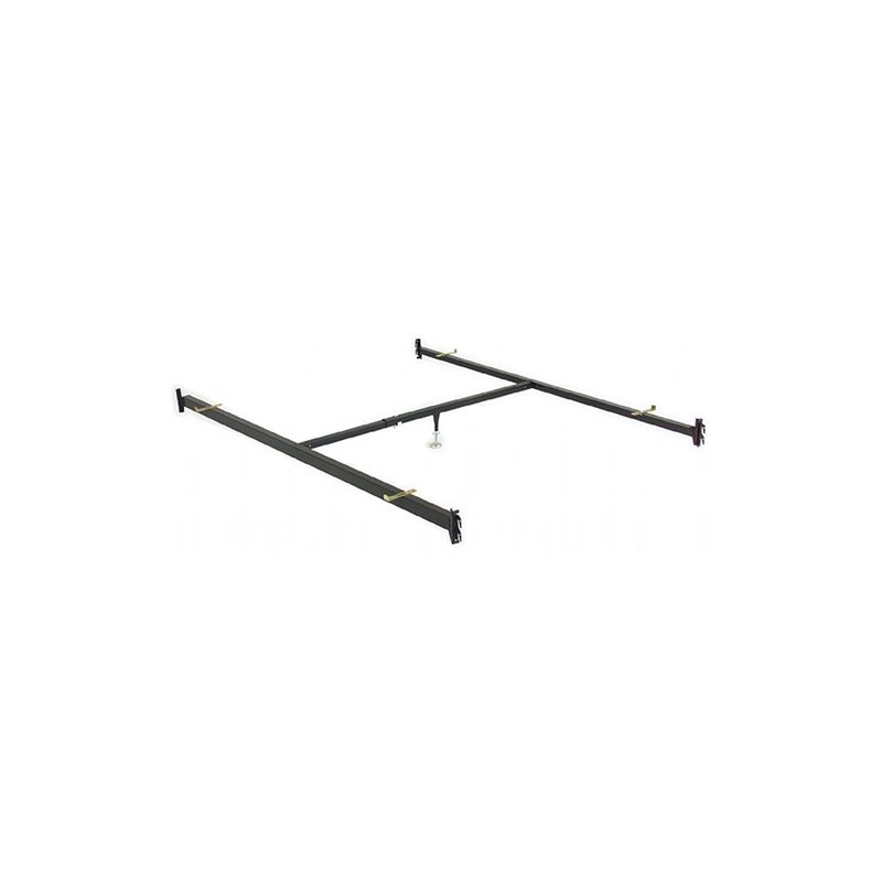 Fashion Bed Group 82-Inch 515/1 (90Q-1) Deluxe Full to Queen Conversion Bed Rails with Hook-On Brackets and Adjustable Center Support for Headboards and Footboards - Queen