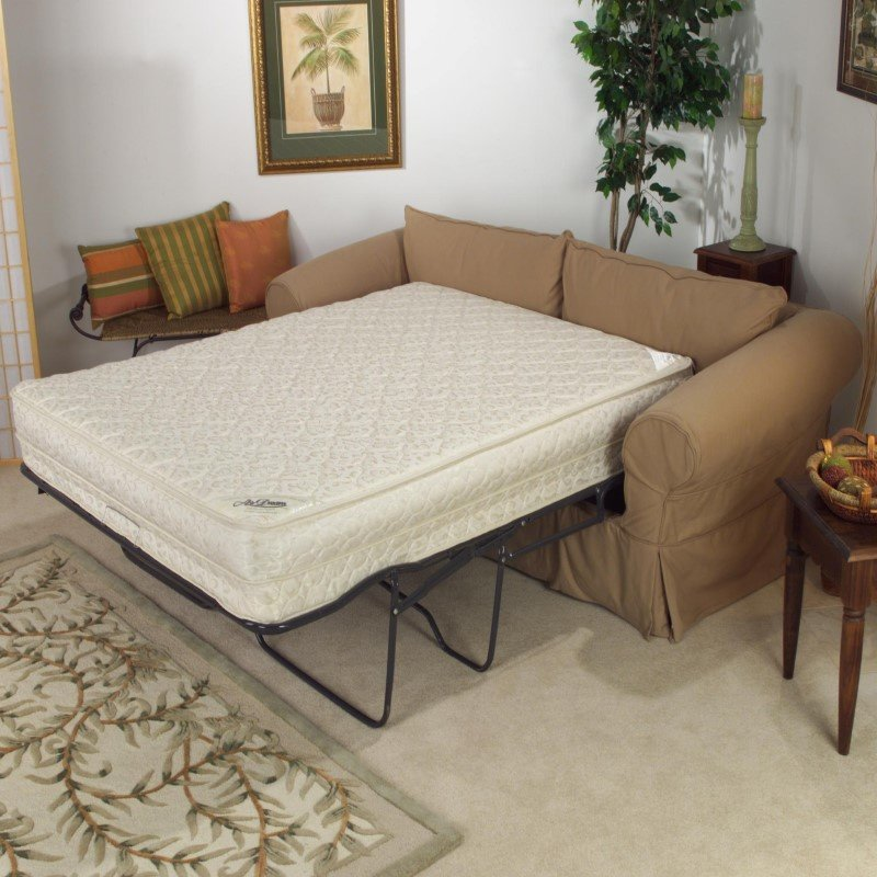 """Fashion Bed Group AirDream Hypoallergenic Inflatable Mattress with Electric Hand Pump for Sleeper Sofas - 60"""" Queen XL"""