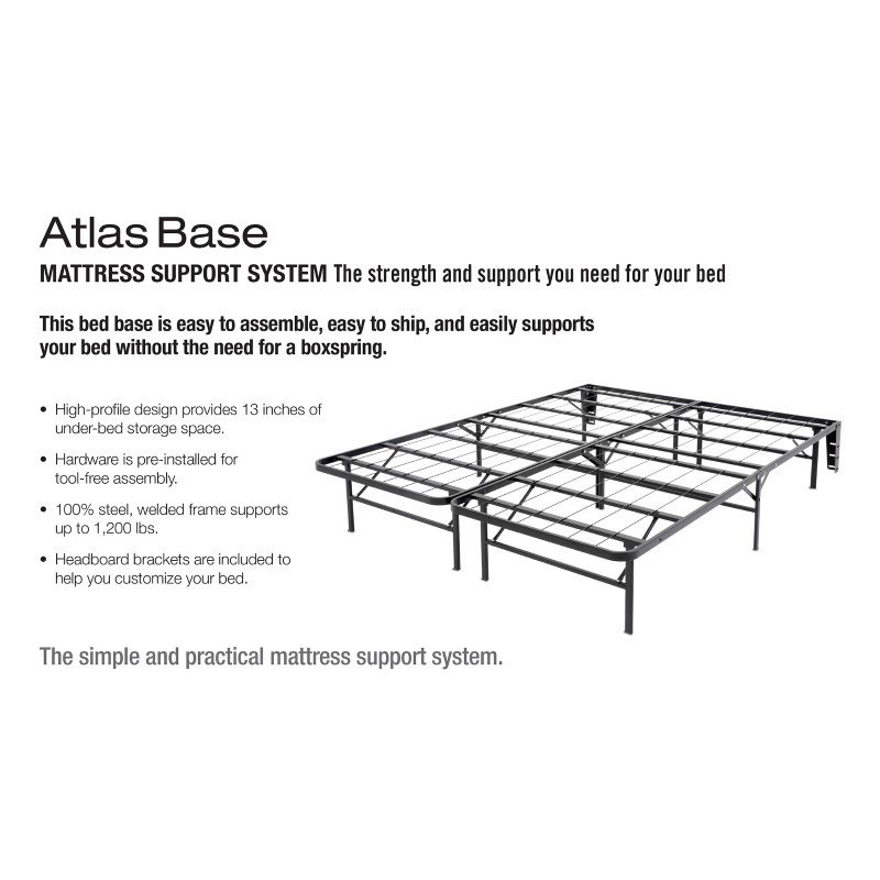 Fashion Bed Group Atlas Bed Base Support System - Twin XL