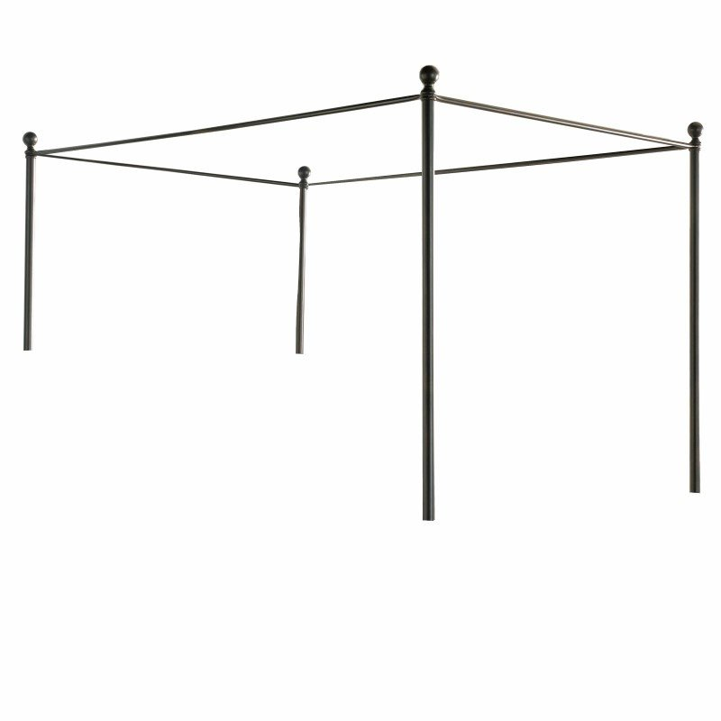 Fashion Bed Group Canopy Kit for Sylvania Complete Bed - French Roast Finish - California King