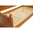 Fashion Bed Group Casey II Wood Daybed with Ball Finials - Honey Maple Finish - Twin