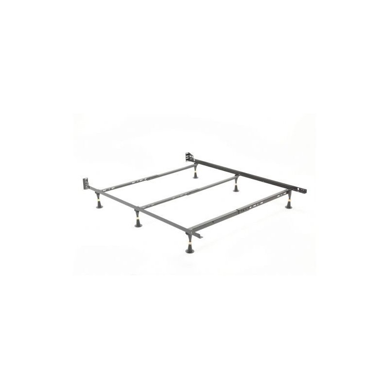 Fashion Bed Group Nautilus H2034 Adjustable Waterbed Frame with Reversible Headboard Brackets and (6) Leg Glides - Twin/Full