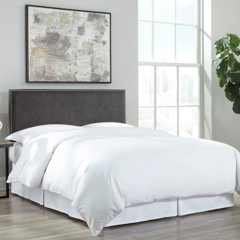 Fashion Bed Group QA0097 White Finished Bed Skirt - Queen