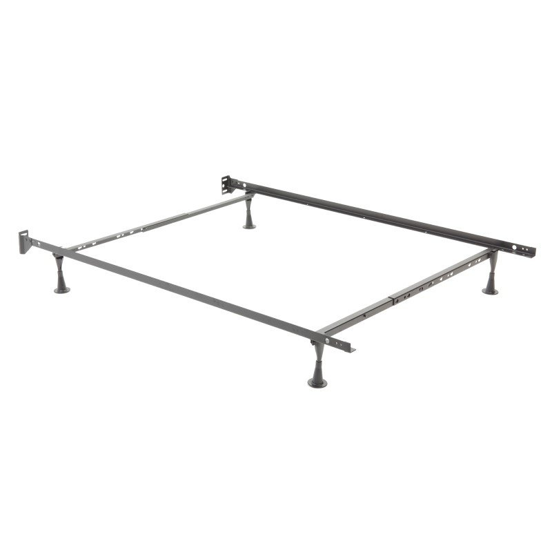 Fashion Bed Group Restmore Adjustable 45G Bed Frame with Fixed Headboard Brackets and (4) Leg Glide Legs - Twin/Full