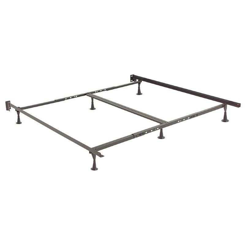 Fashion Bed Group Restmore Adjustable 806G Bed Frame with Double Center Support and (6) Leg Glide Legs - Queen/Cal King/King