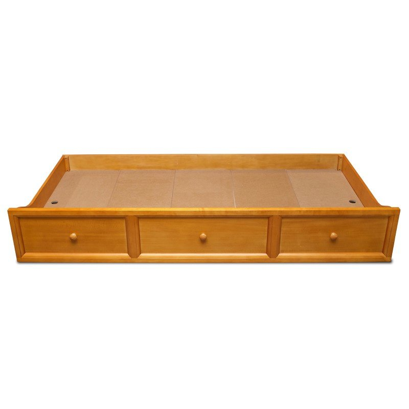 Fashion Bed Group Roll Out Wood Trundle Drawer for Casey II Daybed - Honey Maple Finish - Twin