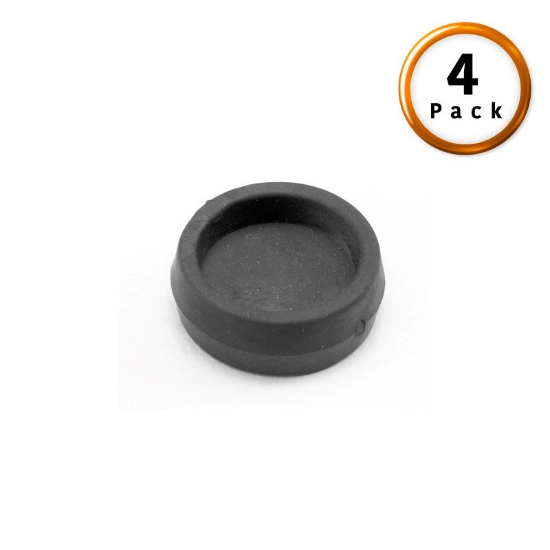 Fashion Bed Group Rubber Caster Cups - 4-Pack