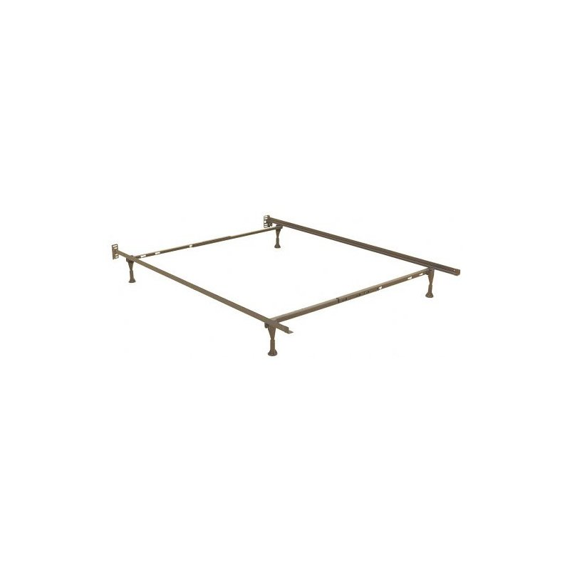 Fashion Bed Group Sentry 7960G Adjustable Bed Frame with Headboard Brackets and (4) 2-Inch Glide Legs - Twin/Queen