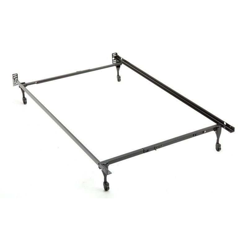 Fashion Bed Group Sentry 79C Adjustable Bed Frame with Headboard Brackets and (4) Caster Legs - Twin/Full