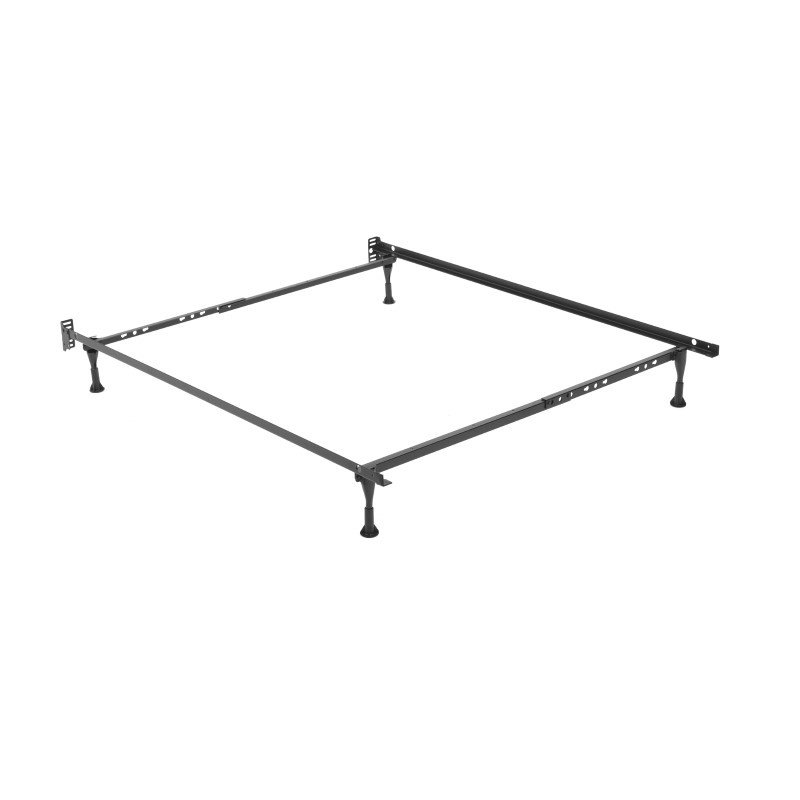 Fashion Bed Group Sentry 79G Adjustable Bed Frame with Headboard Brackets and (4) 2-Inch Glide Legs - Twin/Full