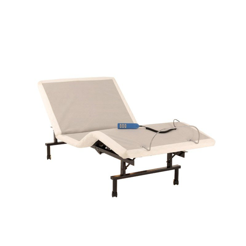 Fashion Bed Group ShipShape Adjustable Bed Base with Ultra-Quiet Motor and Wired Remote - Twin XL
