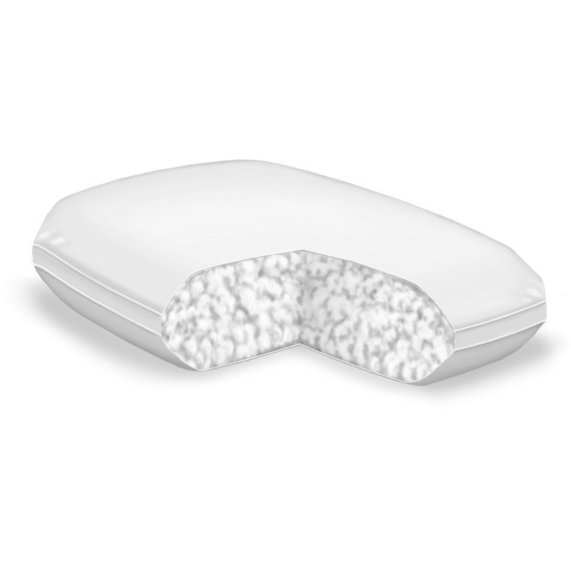 Fashion Bed Group Sleep Calm - Deluxe Fiber Pillow with Crypton Super Fabric - Standard/Queen