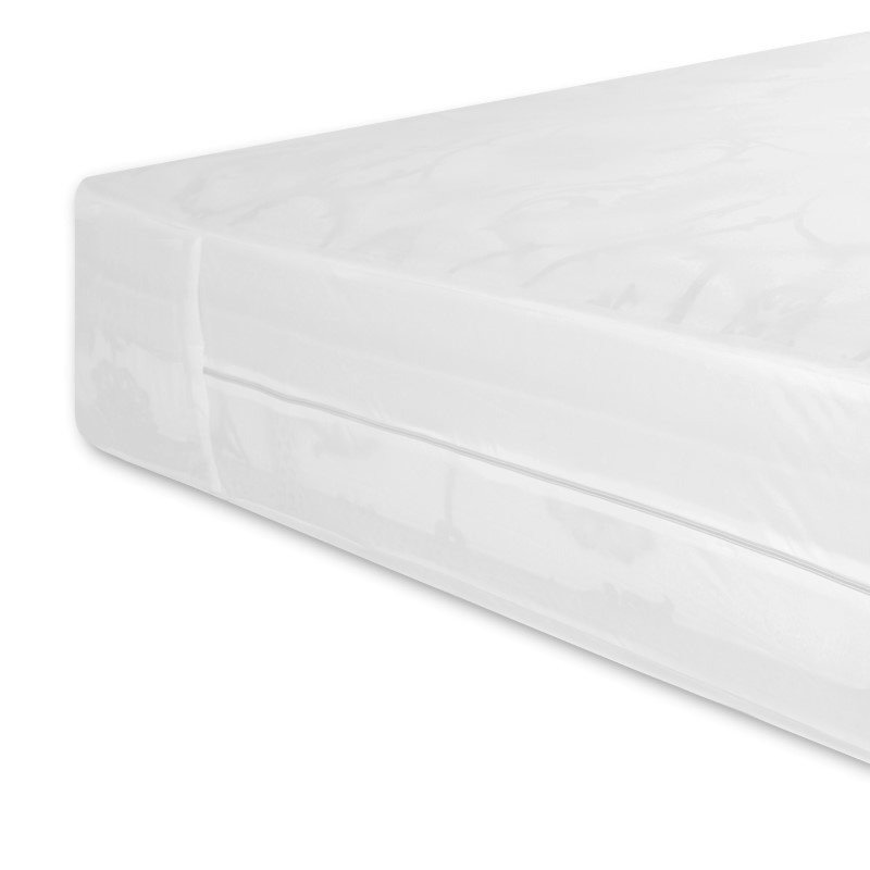 Fashion Bed Group Sleep Calm Easy Zip Expandable Mattress Encasement with Stain and Dust Mite Defense - Twin