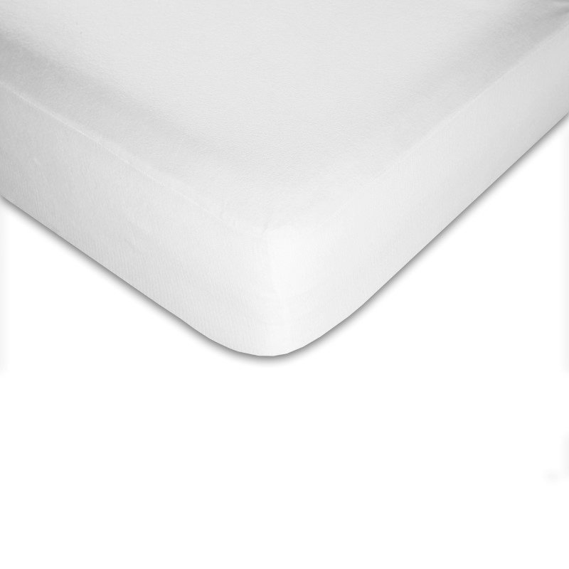 Fashion Bed Group Sleep Calm Mattress Protector with Stain and Dust Mite Defense - Queen