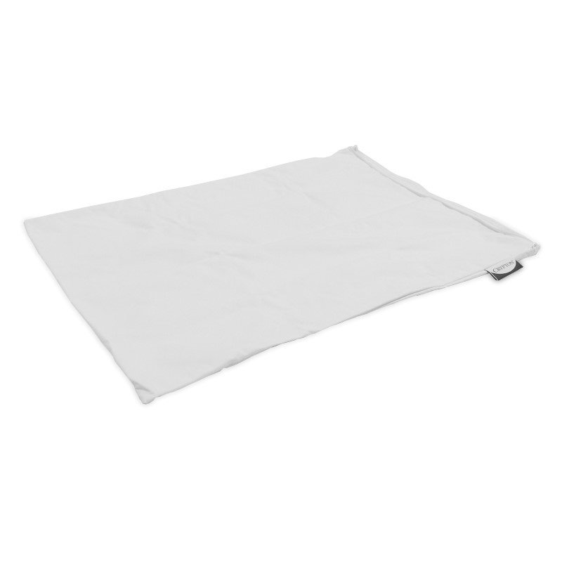 Fashion Bed Group Sleep Calm - Ultra-Premium Pillow Protector with Moisture and Bacteria Resistant Crypton Fabric - Standard/Queen