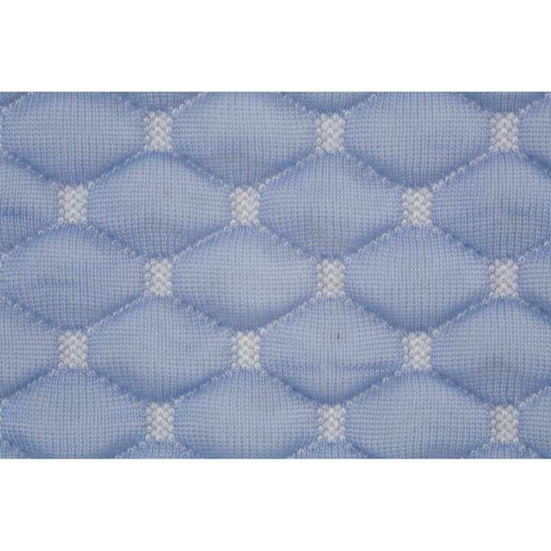 Fashion Bed Group Sleep Chill - Crystal Gel Pillow Protector with Cooling Fibers and Blue 3-D Fabric - King/California King