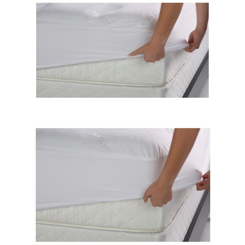 Fashion Bed Group Sleep Chill Mattress Protector with Soft and Moisture Resistant CoolMax Fabric - Full