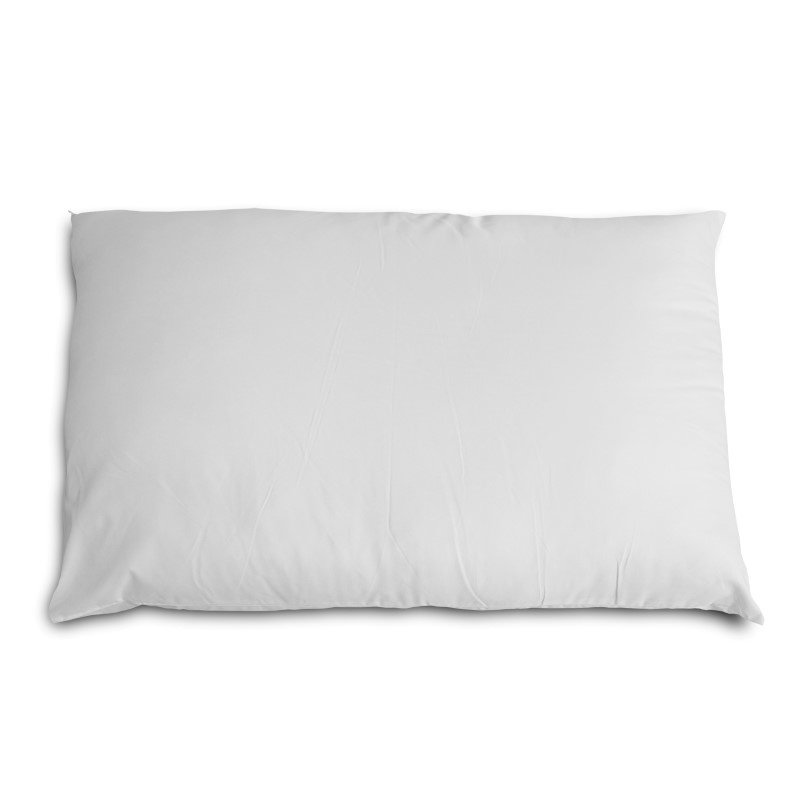 Fashion Bed Group Sleep Plush Deluxe Fiber Filled Pillow with 180-Thread Count Cover - King/California King