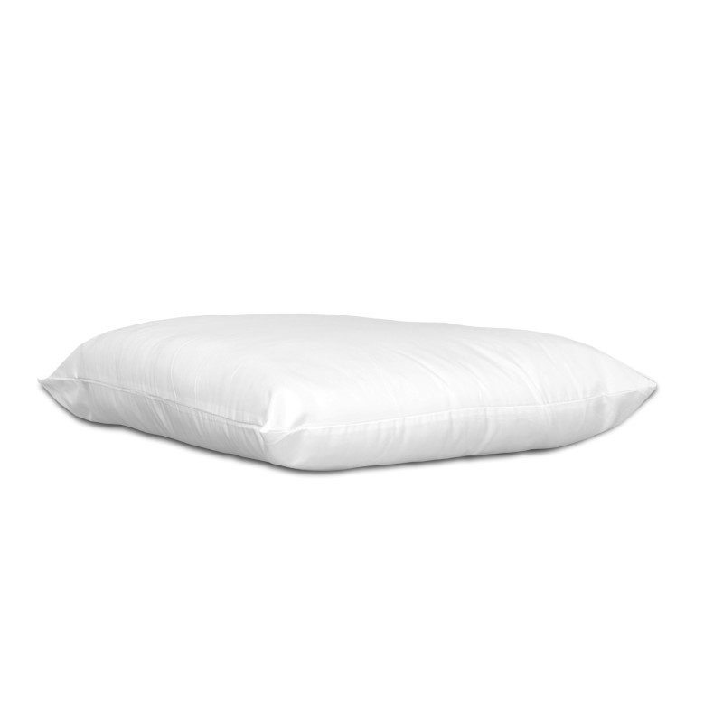 Fashion Bed Group Sleep Plush Deluxe Fiber Filled Pillow with 180-Thread Count Cover - Standard/Queen